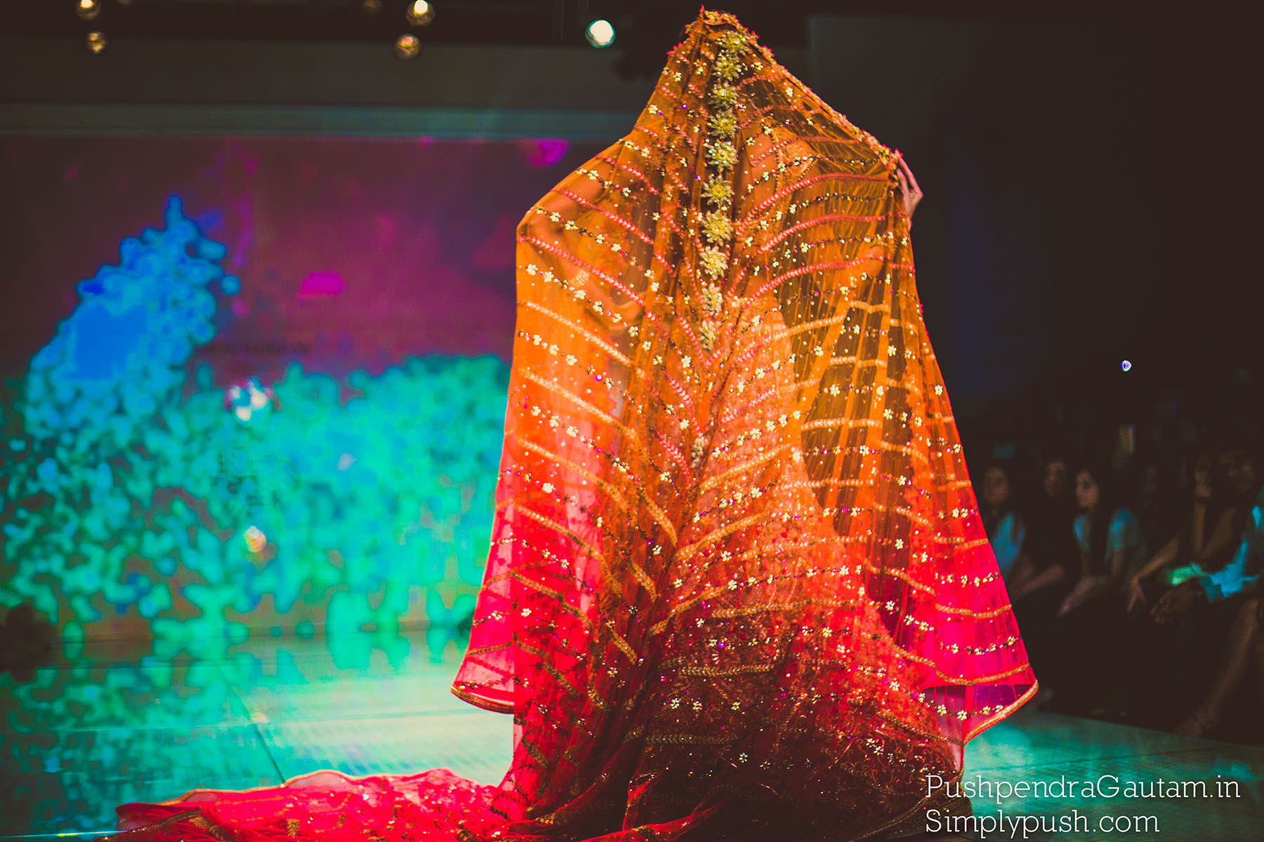Tarun Tahiliani BMW India Bridal week event pics